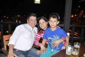 Deiber Campos, Diana Jaimes e Iván Felipe Albarracín Jaimes.  - Laura Herrera /GENTE DE CAÑAVERAL