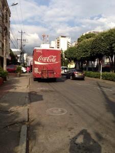 La comunidad pide control para los vehiculos de carga que circulan por el sector.  - Suministrada / GENTE DE CAÑAVERAL