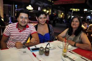 Jorge González, Andrea Gamboa y Doris Ariza.  - /GENTE DE CAÑAVERAL