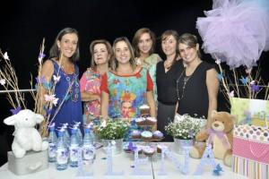 María Angélica López, Pilar De Daza, Carolina Daza, María Juliana Dimarco, Silvia Buenahora y Silvia Juliana Pico. - Laura Herrera /GENTE DE CAñaveral
