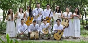 El grupo musical folclórico de la Universidad del Tolima es uno de los invitados a participar en el Festival de Música Instrumental, UPB, 2015. - Suministrada / GENTE DE CAÑAVERAL