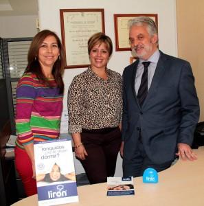 Esmeralda Delgado, Marcela Lacharme y  Pedro Mayoral. - Javier Gutiérrez / GENTE DE CAÑAVERAL