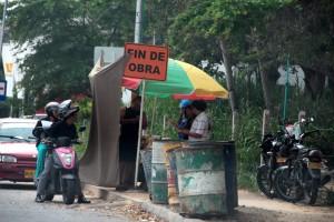 La gente pide control para los vendedores.  - Javier Gutiérrez /GENTE DE CAÑAVERAL
