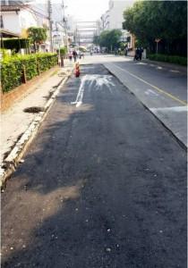 Inicialmente no había señalizanción para peatones o conductores.  - Suministrada / GENTE DE CAÑAVERAL