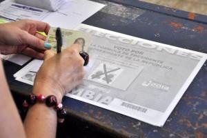 Quienes viven en Cañaveral ven la importancia de votar en Floridablanca.  - Archivo /GENTE DE CAÑAVERAL