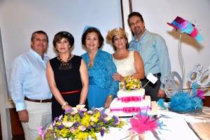Suministrada/GENTE DE CAÑAVERALRafael Pardo Santamaría, María Esperanza Pardo Santamaría, Amelia Santamaría, Gloria Pardo Santamaría y José Fernando Pardo Santamaría.