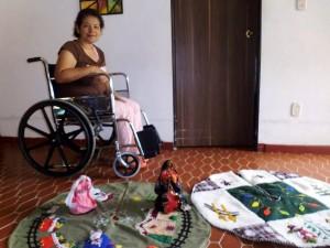 Con donaciones Claudia podrá mejorar su desplazamiento.   - Suministrada/ GENTE DE CAÑAVERAL