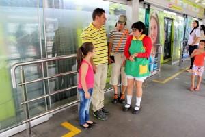 Con esta estrategia Metrolínea implementa acciones de cultura ciudadana. - Suministrada/Gente de Cañaveral