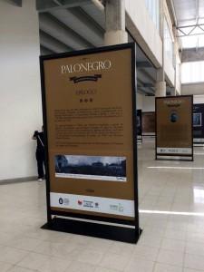 La exposición Palonegro del Metromuseo estará ubicada durante un mes y medio frente a la entrada de la estación.  - Suministrada/GENTE DE CAÑAVERAL