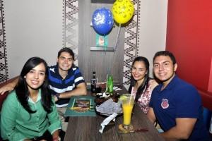 María Fernanda Barragán celebró su cumpleaños junto a sus amigos más allegados.