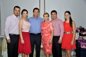 Carlos González, Erika Pinto, Manuel Pinto, Nelly Martínez, René Pinto y Lina María García. - /GENTE DE CAÑAVERAL