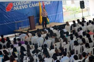 El colegio Nuevo Cambridge lidera el principal encuentro nacional de estudiantes de secundaria, en el que los jóvenes debaten sobre la realidad de su país. - Archivo /GENTE DE CAÑAVERAL