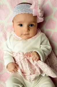 María Catalina Niño Capacho tiene cinco meses y es el centro de atención de esta familia.  - Suministrada/GENTE DE CAÑAVERAL