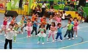 Suministrada/ GENTE DE CAÑAVERALLos pequeños competirán en maratón de aeróbicos, atletismo, microfútbol, entre otros.