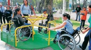 Estos son algunos de los juegos que podrían formar parte del parque incluyente, para los  niños en condición de discapacidad.        - Archivo/GENTE DE CAÑAVERAL