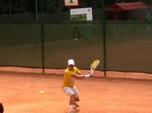 El tenista Juan Diego Ruiz Parra cumplió una destacada actuación en el Torneo 2015 al imponerse tanto en individual como en dobles, en categoría 18 años.  - Suministrada/GENTE DE CAÑAVERAL
