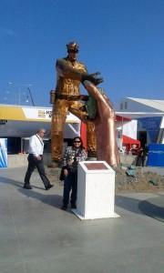 Érika Vargas reside hace dos años en Calama -Chile y ha visitado gran parte de este país.  - Suministrada/GENTE DE CAÑAVERAL