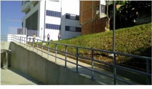 La rampa facilitará el acceso de la comunidad de Palomitas.  - Suministrada/GENTE DE CAÑAVERAL