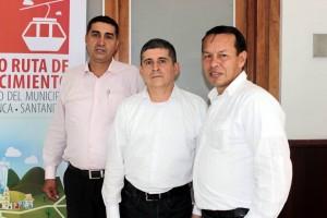 Édgar Aranda Ochoa, José Luis Mayorga y Néstor Aguilar. - Fabián Hernández/GENTE DE CAÑAVERAL