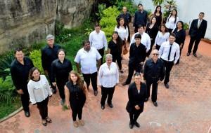 La agrupación coral 'Ciudad Floridablanca' se conformó hace 4 meses y comenzó sus presentaciones en julio.  - Suministrada /GENTE DE CAÑAVERAL