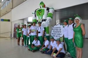 A una semana de lanzar la campaña, 5.000 usuarios del Sistema Integrado de Transporte Masivo han participado en las diferentes estrategias. - Suministrada/GENTE DE CAÑAVERAL