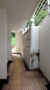 La infraestructura ha sufrido algunos daños debido a la humedad.  - Suministrada/GENTE DE CAÑAVERAL
