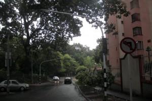 Conductores y habitantes del sector insisten en que el semáforo de Zona Refrescante es innecesario.  - Javier Gutiérrrez /GENTE DE CAÑAVERAL