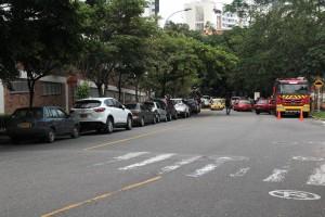 Los asistentes a las eucaristía piden a las autoridades más controles en la vía.   - Javier Gutiérrez /GENTE DE CAÑAVERAL