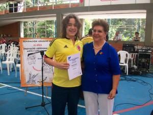 Diego Navas González es uno de los estudiantes de la Fundación Colegio UIS que se destacó en las olimpiadas.   - Suministrada/GENTE DE CAÑAVERAL