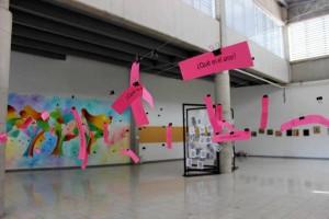 Diferentes obras artísticas podrán apreciar los usuarios de Metrolínea durante este mes.   - Suministrada/GENTE DE CAÑAVERAL