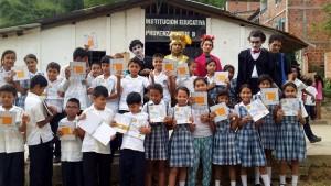 Con estas actividades se contribuye con la educación de los niños de sectores vulnerables.  - Suministrada/GENTE DE CAÑAVERAL