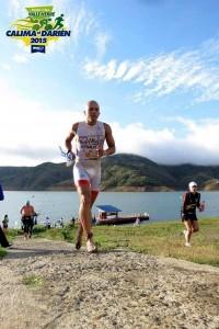 La más reciente competencia fue el Campeonato Internacional IronMan 70,3 Lago Calima (Valle del Cauca).  - Suministrada/GENTE DE CAÑAVERAL