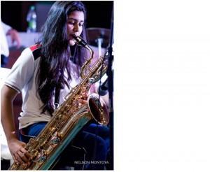 Laura Martínez pertenece a la Banda Sinfónica desde segundo de primaria.  - Suministrada /GENTE DE CAÑAVERAL