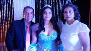 Germán Murillo Carreño, Alejandra Lizeth Murillo Díaz y Nelly Díaz Durán.  - Suministrada/GENTE DE CAÑAVERAL