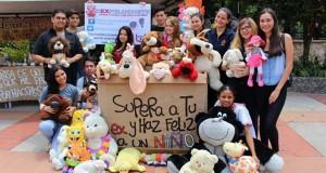 Los peluches donados serán entregados a los niños de la Fundación Picolli y Fe y Alegría.  - Suministrada/GENTE DE CAÑAVERAL