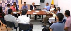 Representantes de Molinos se reunieron con la Defensoría, Invías, Área Metropolitana de Bucaramanga y Alcaldía de Floridablanca.  - Suminsitrada/GENTE DE CAÑAVERAL