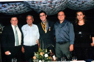 Héctor Mantilla se graduó del colegio San Pedro Claver en 2011