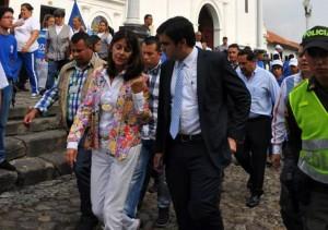 Este joven fue subdirector nacional de la campaña de Martha Lucía Ramírez y coordinador de la campaña Martha Lucía a la presidencia, en Santander