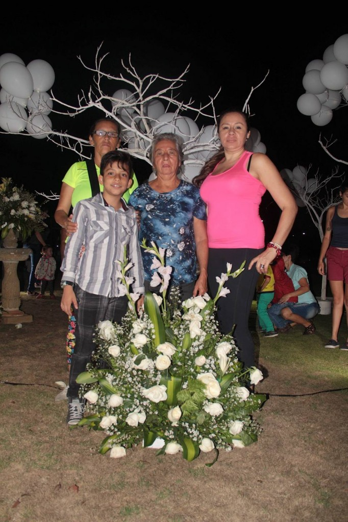 Nancy Villamizar , Brayan Romero Villamizar, Olga Díaz y Olga Lucía Villamizar. - Suministrada/GENTE DE CAÑAVERAL
