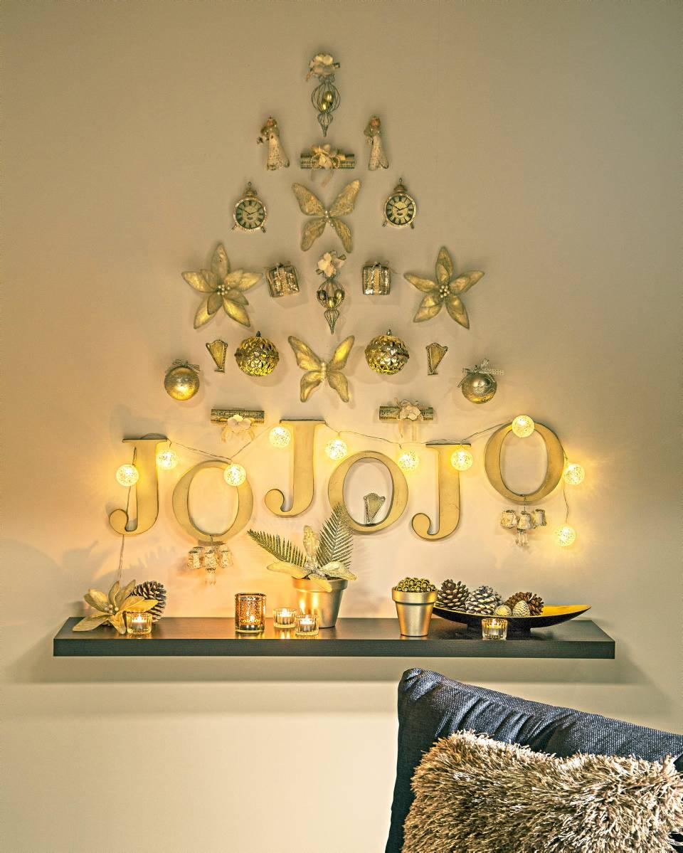 Rboles de pared tendencia en navidad tendencias - Arbol de navidad de pared ...