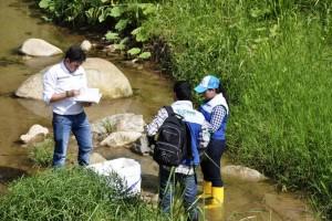La quebrada Mensulí ha sido afectada por la contaminación desde hace varios años.  - Suministrada/GENTE DE CAÑAVERAL