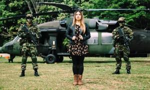 La joven santandereana fue escogida este año para ser la voz oficial de las Fuerzas Militares de Colombia. - Facebook/GENTE DE CAÑAVERAL