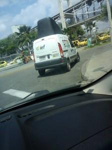 Un habitante se queja por presuntas infracciones de este vehículo. - Eduardo Ramírez Pérez /GENTE DE CAÑAVERAL