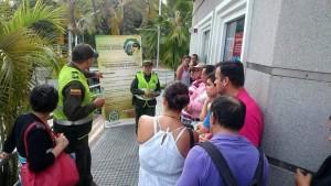 Los uniformados estarán reforzando la vigilancia en el sector comercial de Cañaveral.  - Archivo/GENTE DE CAÑAVERAL