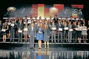 Los mejores estudiantes de Colombia fueron galardonados durante 'La Noche de los Mejores', una gala organizada por el Ministerio de Educación Nacional. - Suministrada/GENTE DE CAÑAVERAL