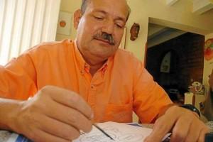 El caricaturista expondrá sus obras en la casa de la Cultura Piedra del Sol.  - Suministrada/GENTE DE CAÑAVERAL