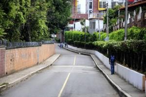 Esta zona de la Transversal 164 también es frecuentada por los delincuentes.  - Didier Niño/GENTE DE CAÑAVERAL
