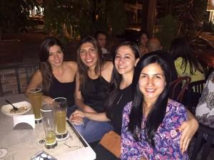 María Alejandra Ríos, Dayana Cely, Natalie Benjumea y Juliana Villamizar.  - Suministrada/GENTE DE CAÑAVERAL