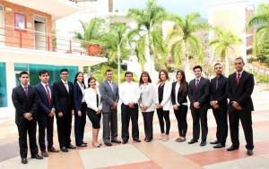 Estos son los estudiantes que participarán como delegados y simularán comités de la Organización de Naciones Unidas. - Suministrada/GENTE DE CAÑAVERAL