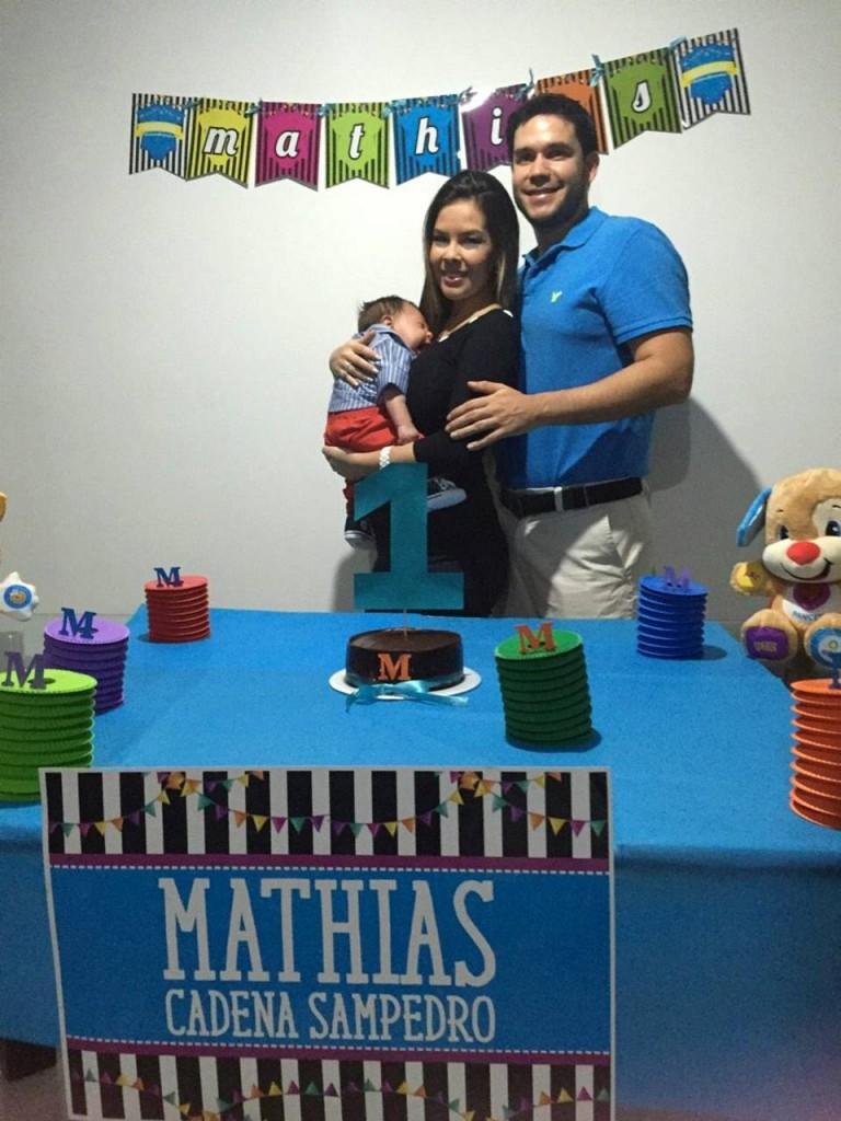 Suministrada/GENTE DE CAÑAVERALMathias Cadena Sampedro, María Patricia Sampedro Acevedo y Alberto Cadena Zúñiga.